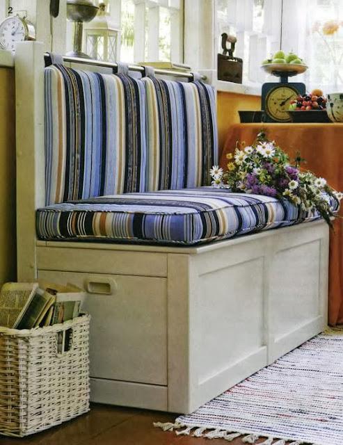 диван для дачи, как сделать диван