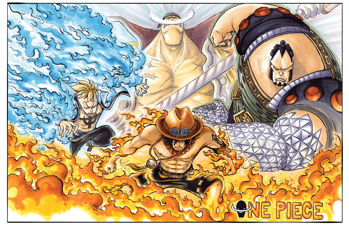 Straw Hat Pirates One Piece The Whitebeard Pirates