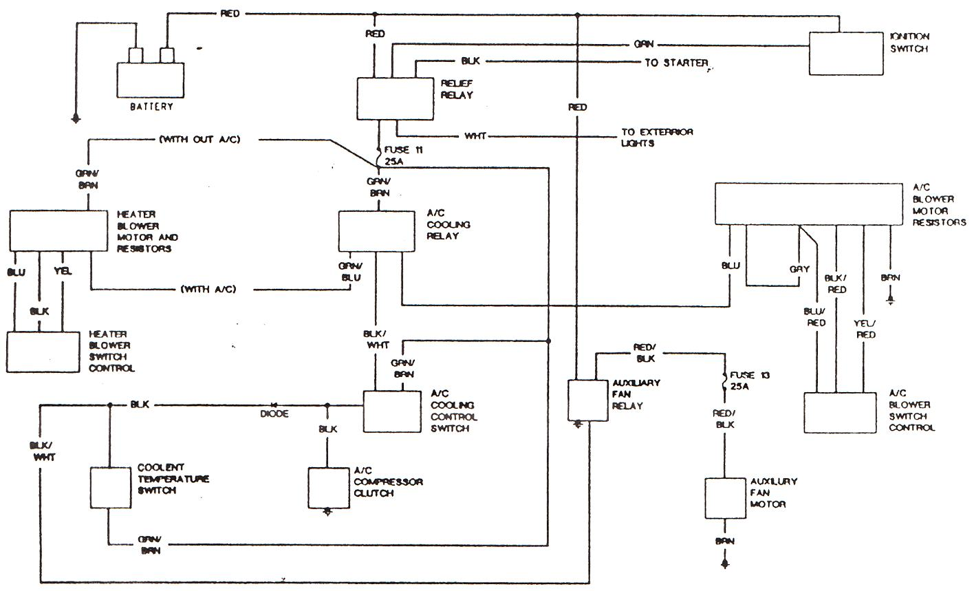 Diagram Motor Control Wiring Cbr 600 F4i Ac Diagrams Kit Picture