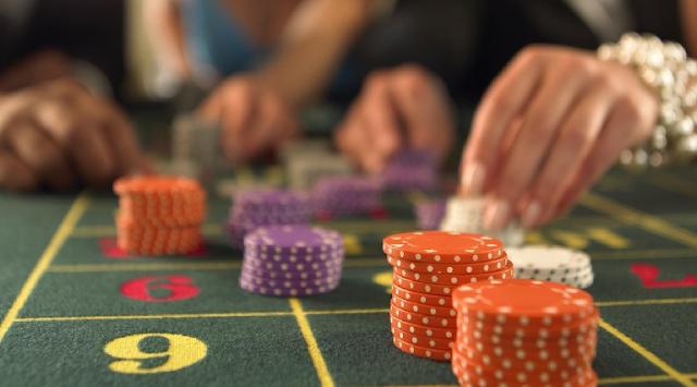 Controle do dinheiro nos torneios de cassinos em Las Vegas