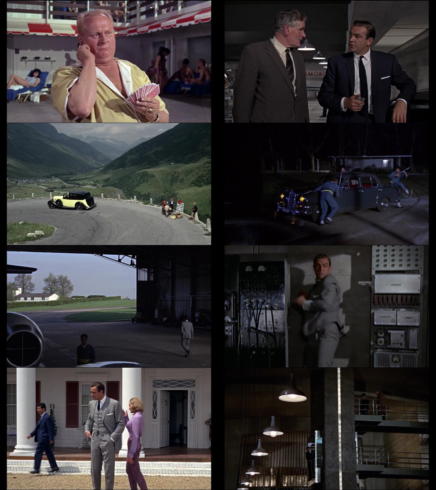 007 contra Goldfinger 1080p Latino