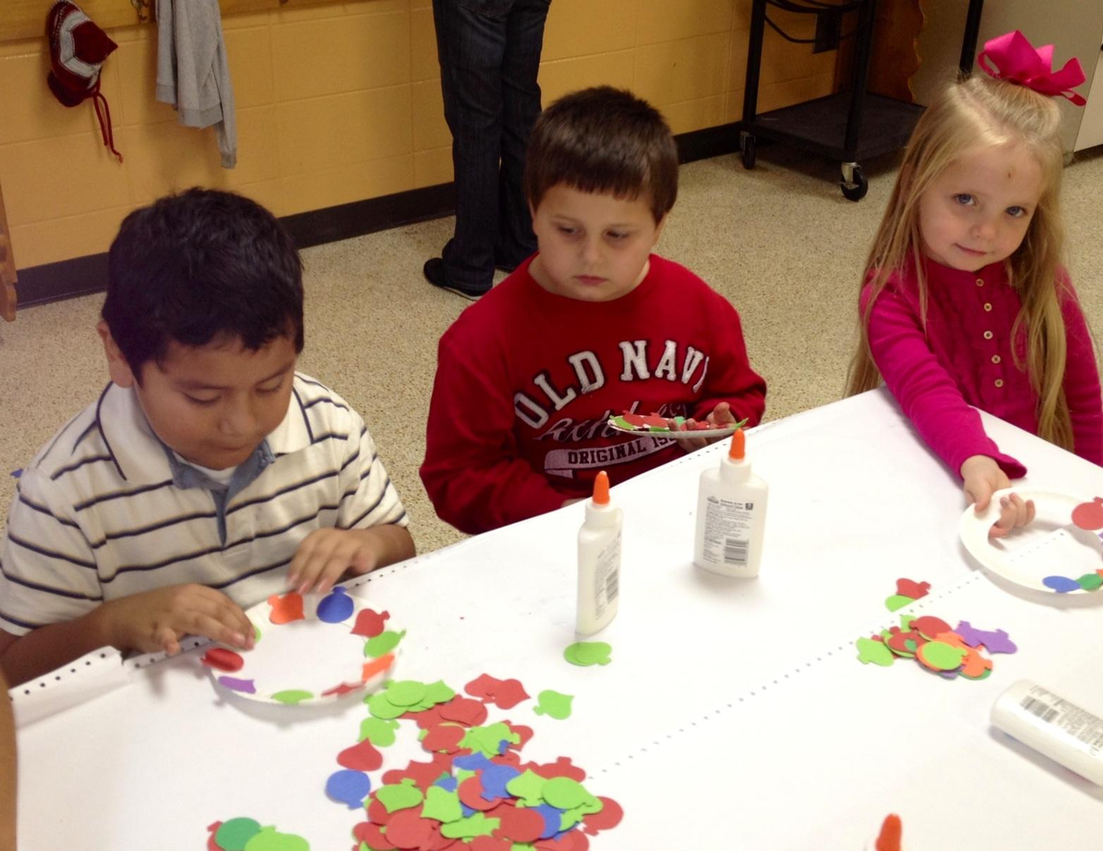 Mrs Doyle S Kindergarten Kaleidoscope Christmas Craft