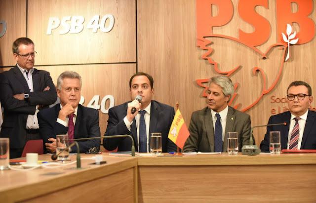 Pela primeira vez, PSB-PE pode divergir de diretório nacional em apoio à presidência