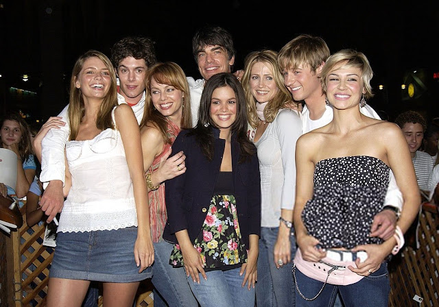 cast of the o.c. group photo season 1