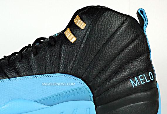 3f88dbda8d8b80 THE SNEAKER ADDICT  Air Jordan XII – Carmelo Anthony Nuggets Away PE ...