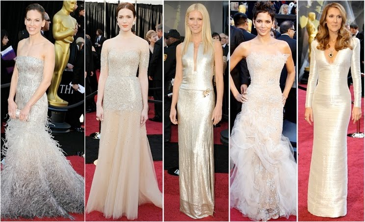 My Bridal Fashion Guide To Simple Wedding Dresses Nyc: Oscar 2011: Tresses Vs Dresses {A Wedding Stylist's Guide