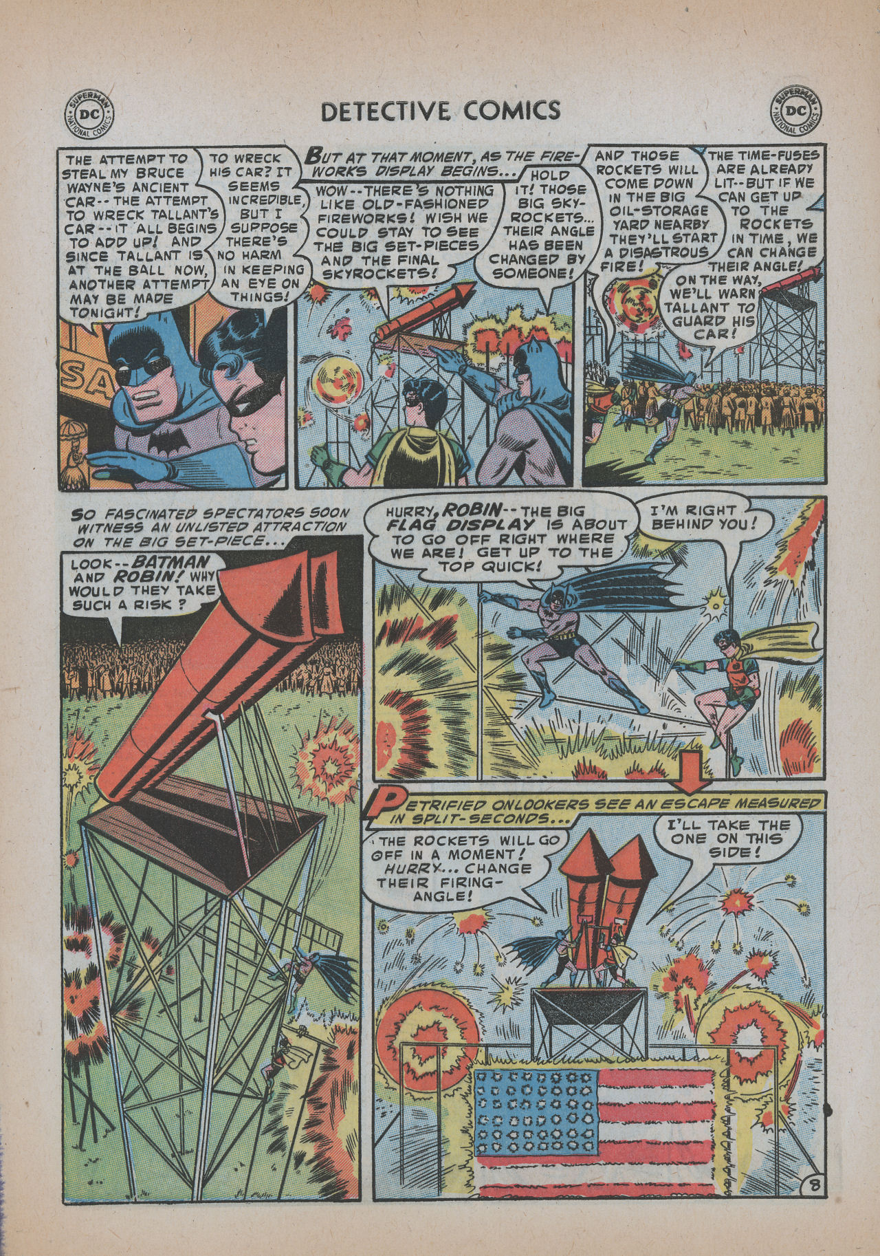 Read online Detective Comics (1937) comic -  Issue #219 - 10