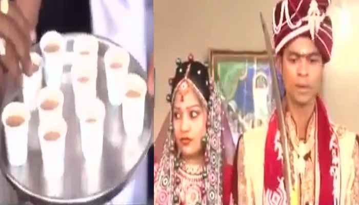 नोटबंदी ने बचाए लाखों रुपये, चाय-पानी पिलाकर सिर्फ 500 रुपये में इन दोनों ने निपटा दी शादी