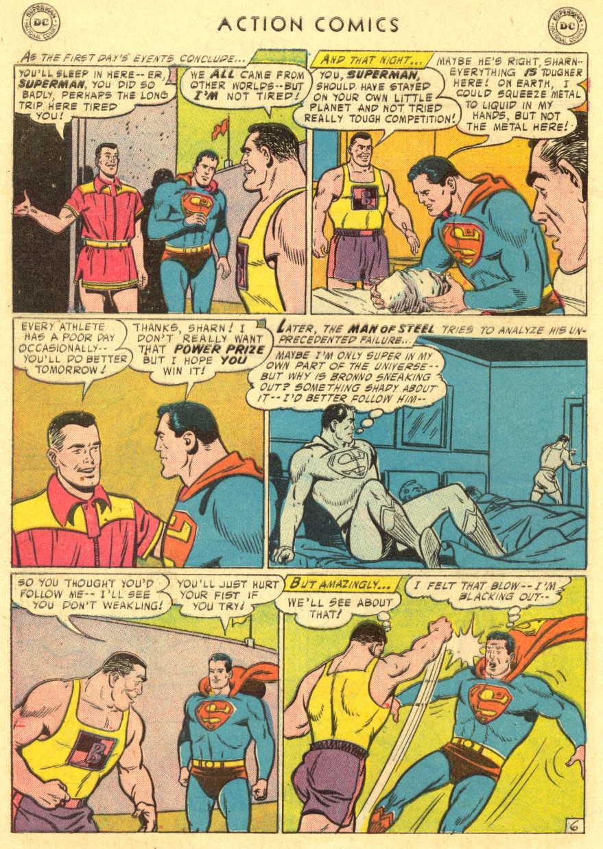 Action Comics (1938) 220 Page 7