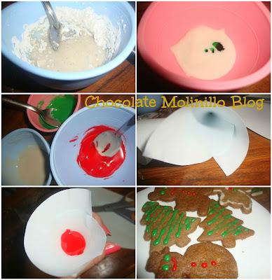Glaseado sencillo para galletas
