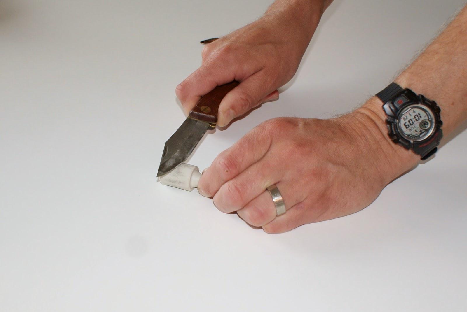 Kniv slipning