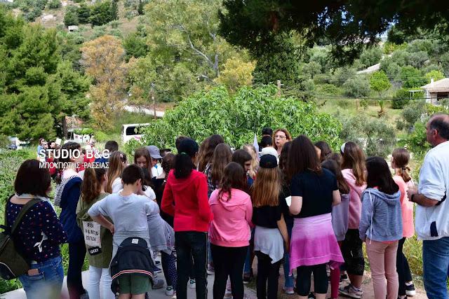 Μεγάλο ενδιαφέρον από μαθητές για τις Πρασινες Πολιτιστικές Διαδρομές στην Ασίνη (βίντεο+drone)