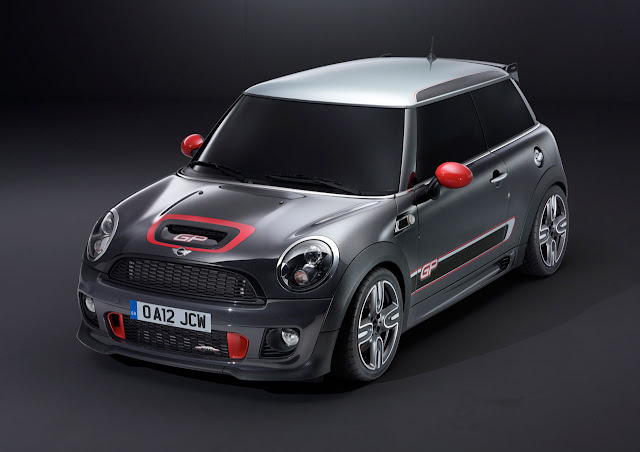 MINI John Cooper Works GP front side