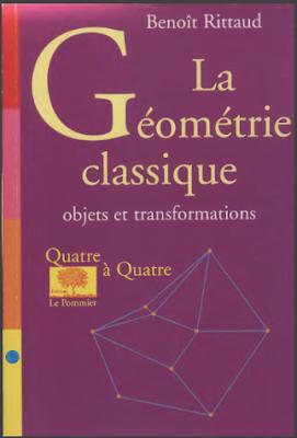 Télécharger Livre Gratuit La géométrie classique objets, transformations pdf