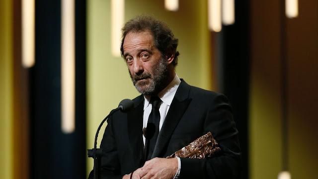 Vincent Lindon recoge emocionado el César al mejor actor por La ley del mercado