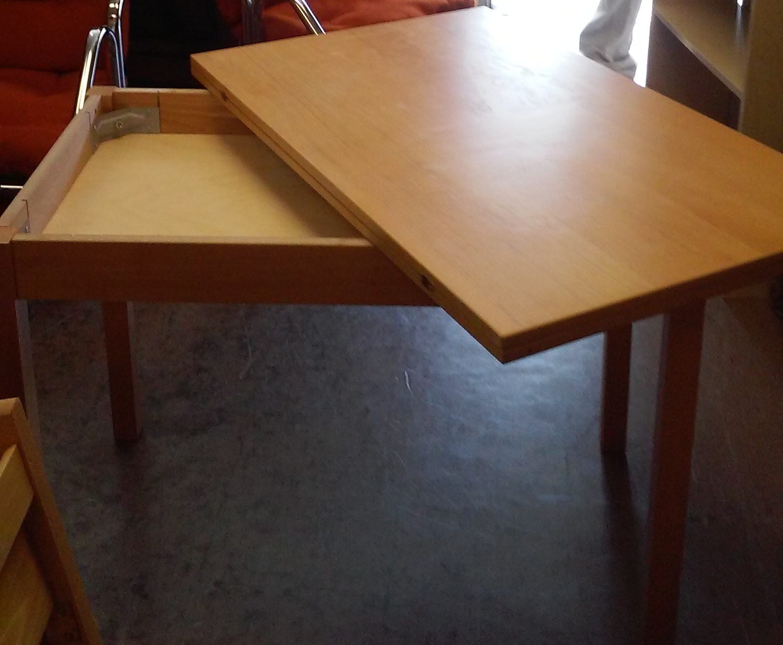 3 X 8 Table Uhuru Furniture And Collectibles Sold Ikea Jussi Twist And
