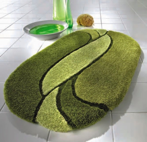 26 Luxury Green Bath Rugs | eyagci.com