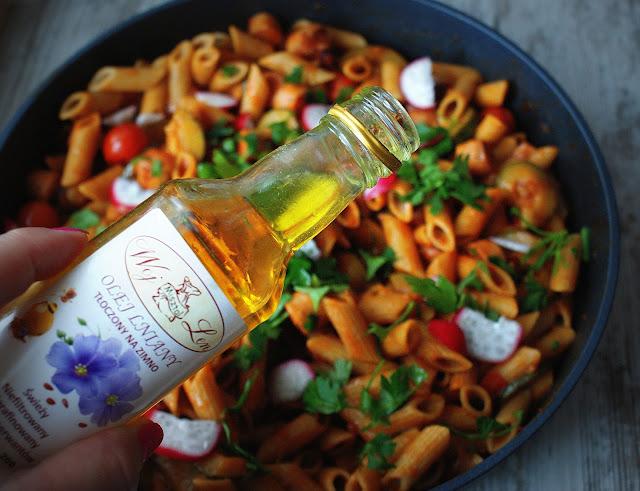 skworcu,woj len,olej rzepakowy tloczony na zimno,olej lniany tloczony na zimno,proeco,kuchnia wloska,kuchnia srodziemnomorska,zdrowe obiady,zdrowa zywnosc,cucina italiana,