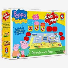 Massinha da Peppa