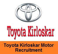 Toyota Kirloskar Motor Recruitment