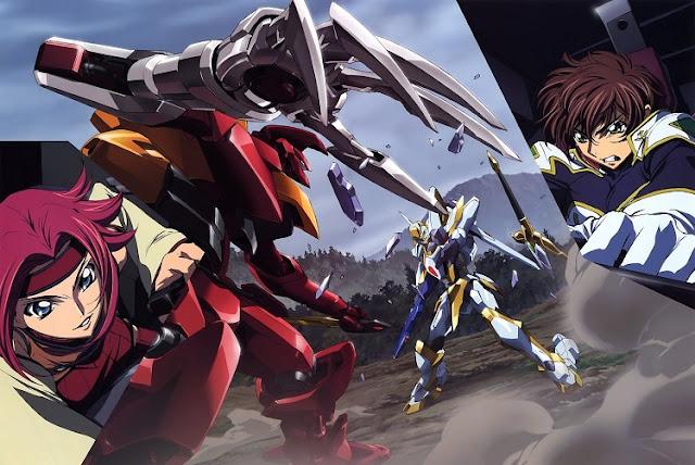 Code Geass di Rekomendasi anime Antagonisnya Menang