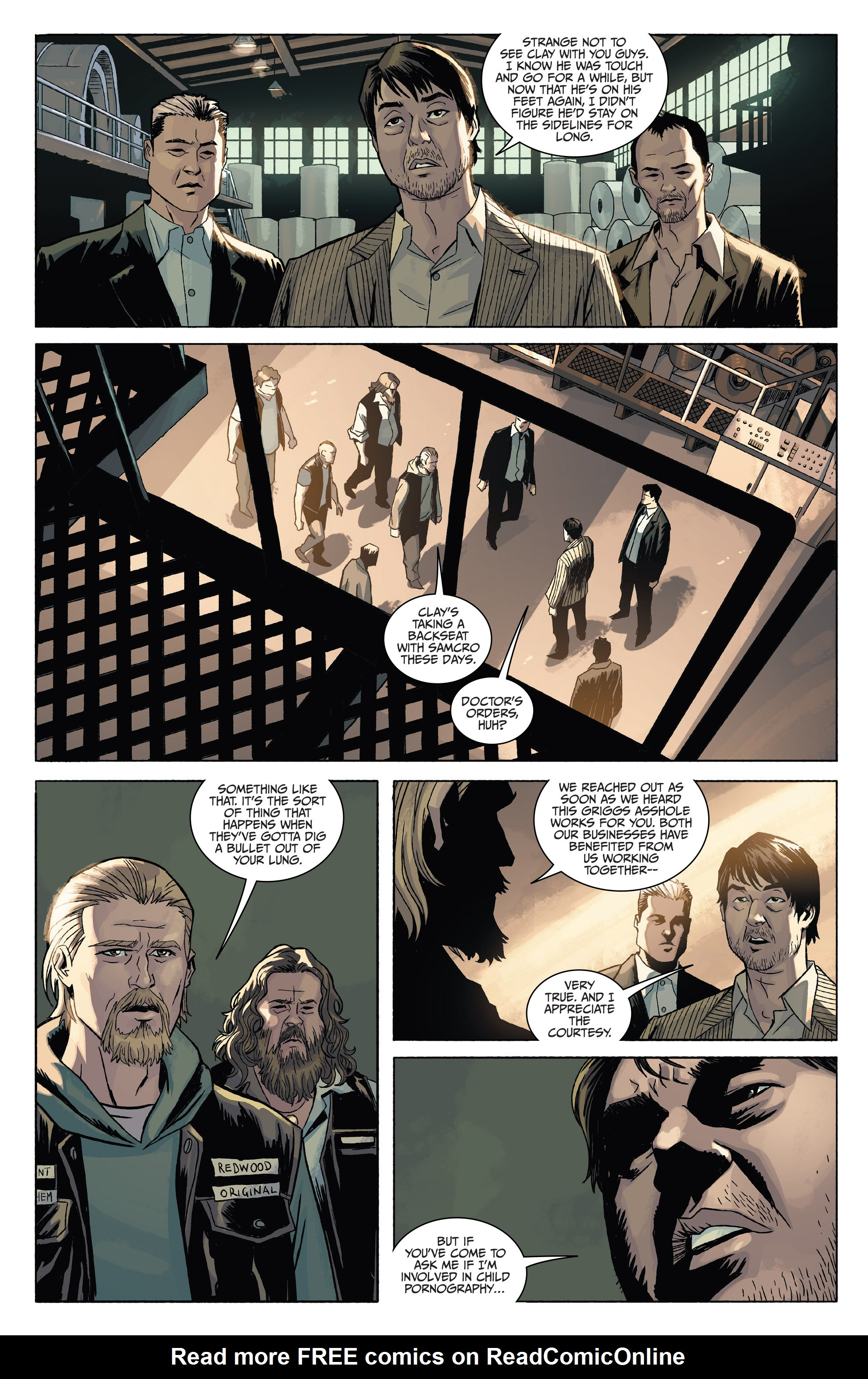 Read online Sons of Anarchy comic -  Issue #4 - 6