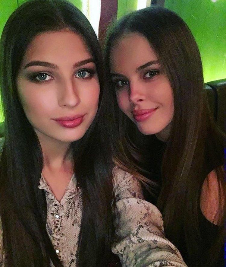 Russian Miss world and Miss universe Yuliana Korolkova and the Yana Dobrovolskaya
