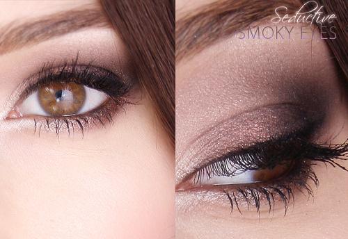 Alina Rose Blog Kosmetyczny Makijaż Brązowe Smoky Eyesczyli