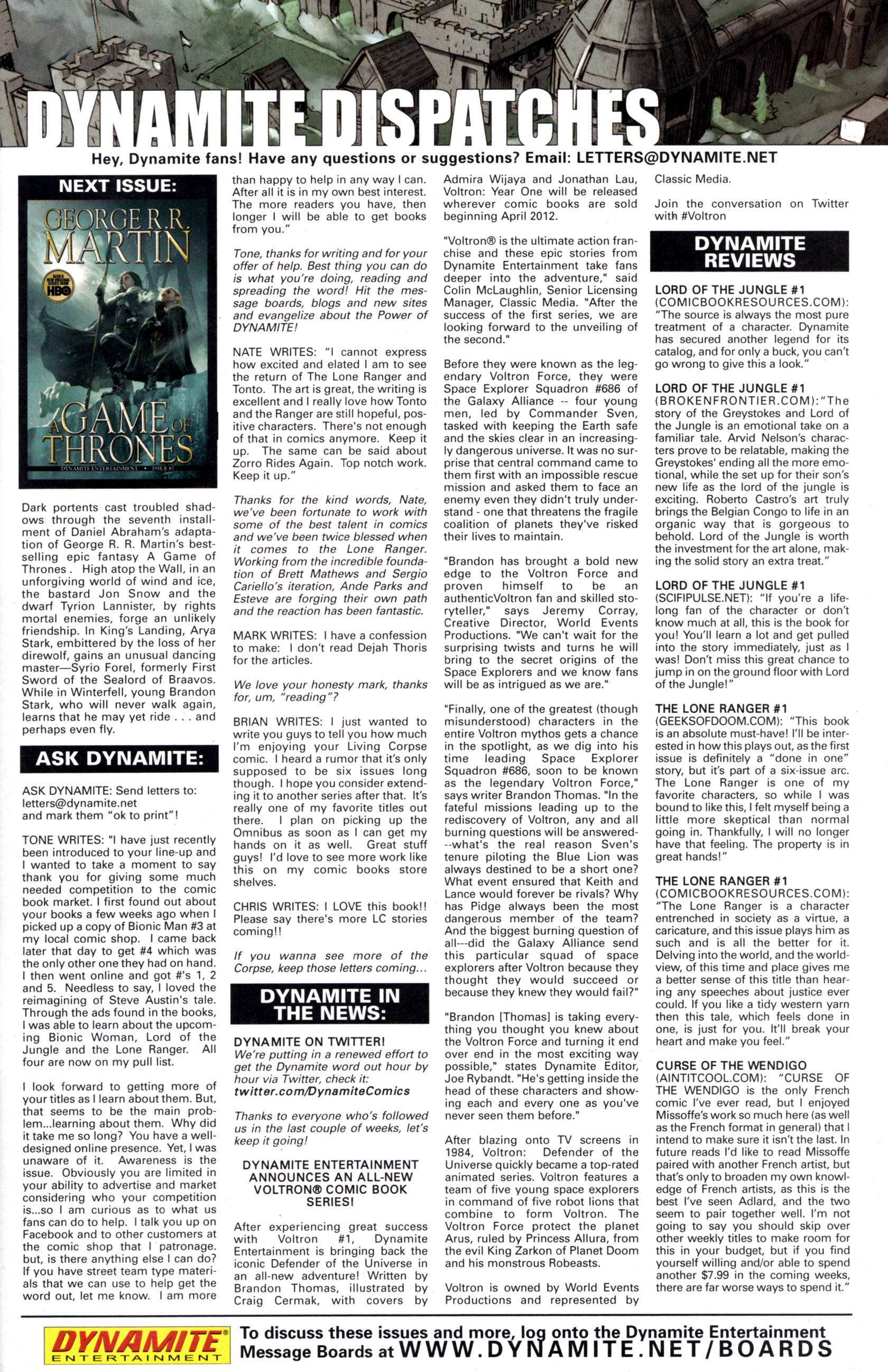 Read online A Game Of Thrones comic -  Issue #6 - 33