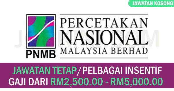 Pencetakan Nasional Malaysia Bhd