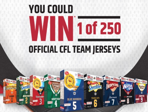 Post CFL Team Jersey Giveaway