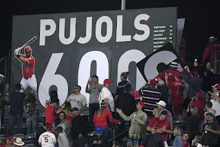 Albert Pujols 600 HR Club