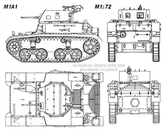Общий вид танка Combat Car M1