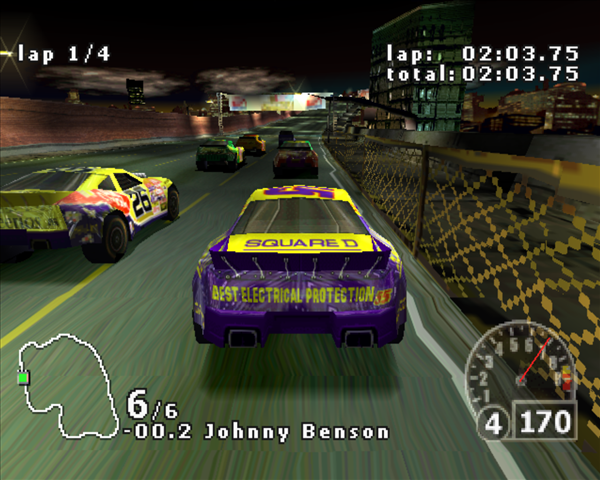 Nascar Rumble (2000) [Full] - Descargar Gratis
