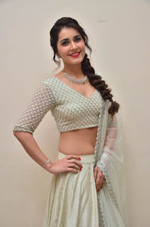raashi khanna at avakusa trailer launch 4
