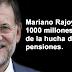 Rajoy saca 1.000 millones de euros más de la hucha de las pensiones para poder pagar el IRPF