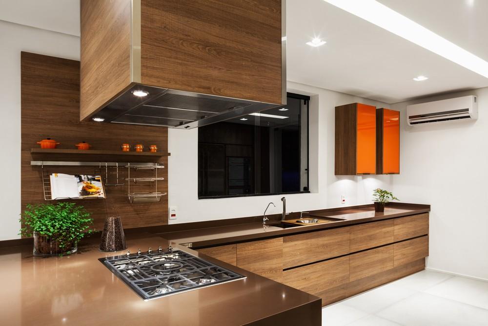 Construindo minha casa clean 25 tipos de pedras para bancada da cozinha veja as melhores op es - Mesa de silestone ...