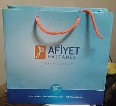 afiyet hastanesi karton çanta