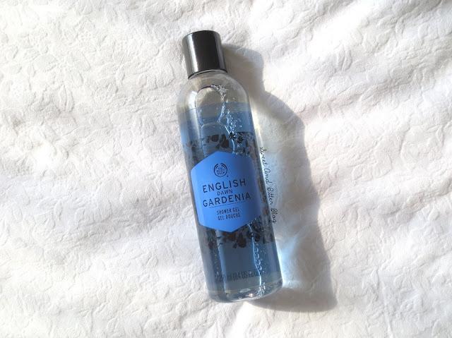 The Body Shop English Dawn Gardenia Shower Gel Review