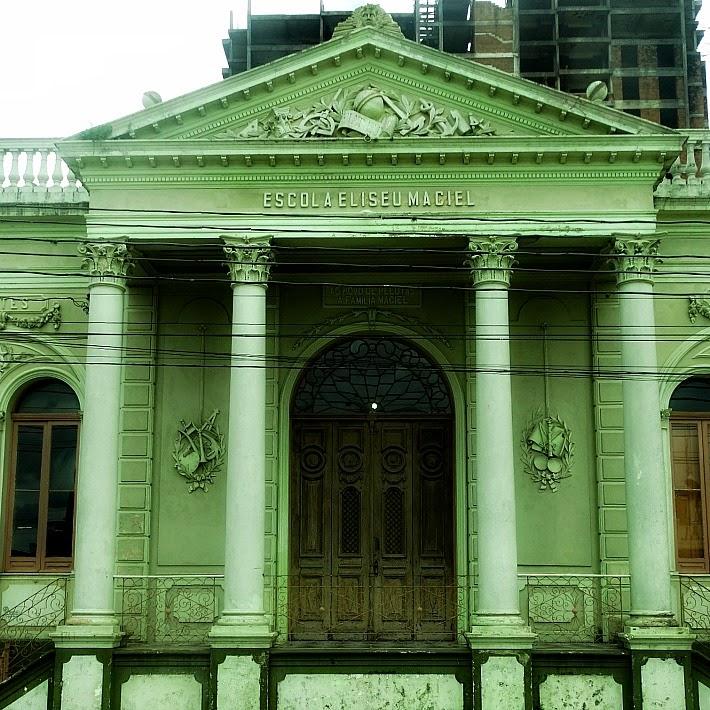 Antiga Escola de Agronomia, em Pelotas