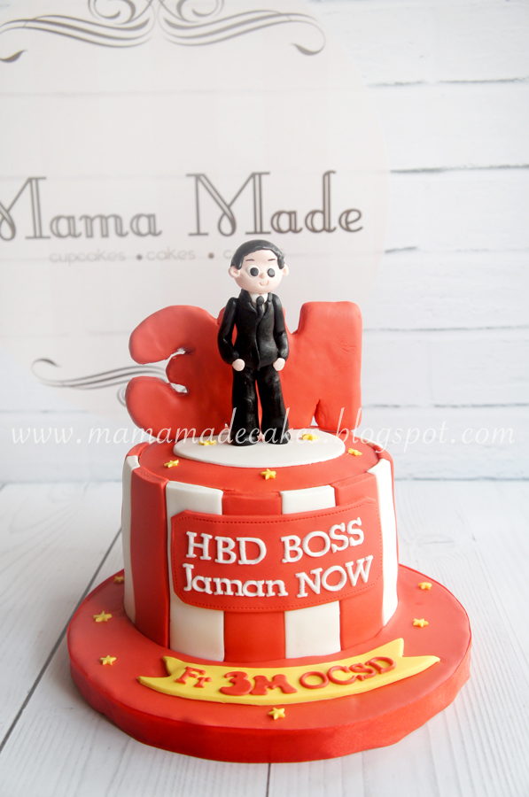 Birthday Cake For The Boss Mama Made Cakes