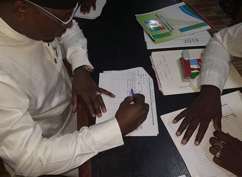 Sulaiman Bakari Picks Nomination Form For House Of Representatives