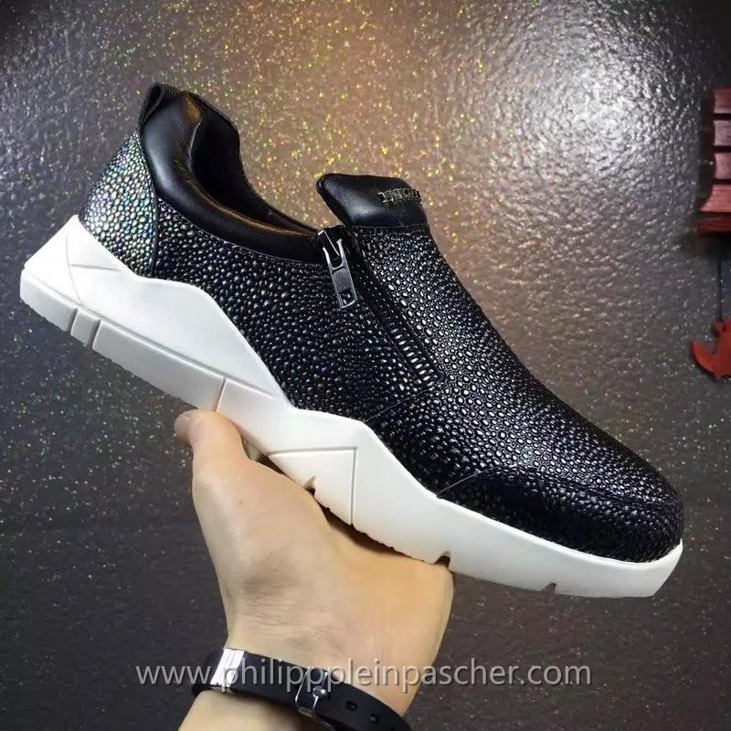 Sneakers Noir Marche Pour Philipp Plein HommePhilipppleinpascher 2EIY9WHD