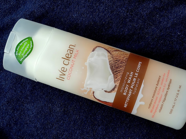 Live Clean Coconut Milk Body Wash