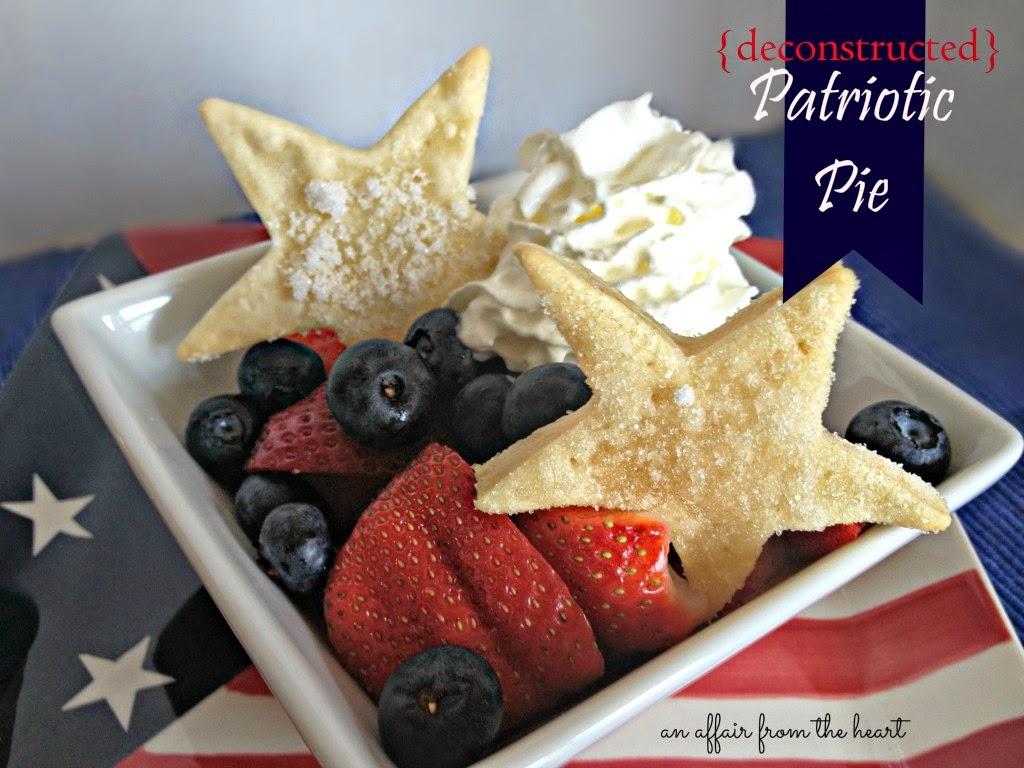 Deconstructed Patriotic Pies - FEATURED