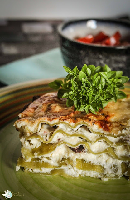 Lasagne mit Ricotta