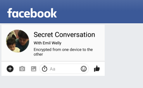 cara menggunakan fitur percakapan rahasia di facebook messenger