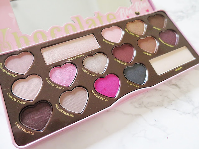 Too Faced Chocolate Bon Bons Palette Shadows