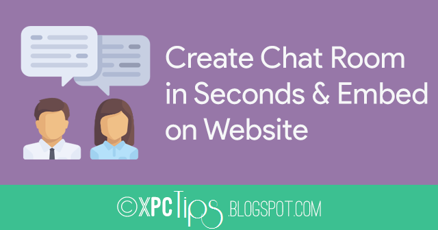 Make A Chat Room For Your Website