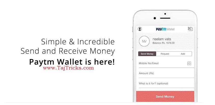 Paytm Rs10 Free Cashback
